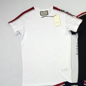 Gucci White Men Tshirt Tee